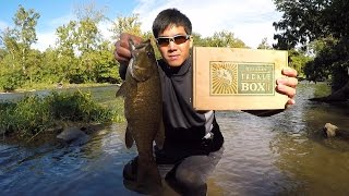 Mystery Tackle Box SMALLMOUTH Slam Challenge - Potomac River (September 2015)