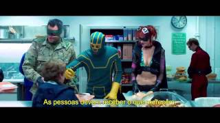 KICK ASS 2 - Red Band Trailer Estendido Legendado (2013)
