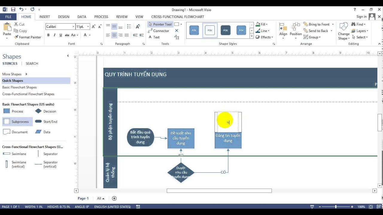 GoKids_Hướng dẫn vẽ quy trình bằng VISIO