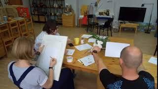 Уроки правополушарного рисования
