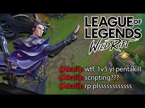 FULL CRIT MASTER YI PENTAKILL (INSANE DAMAGE) - League Of Legends: Wild Rift