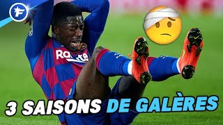 Ousmane Dembélé au Barça, retour sur trois saisons de galères