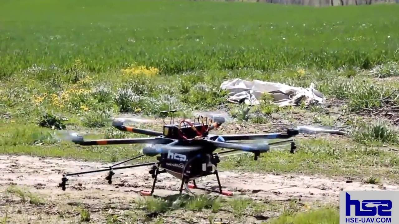 AG-VA UAV Crop Duster Sprayers Octo-Copter Hex UAV Sprayers