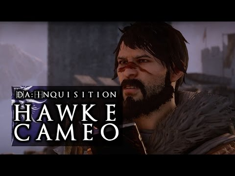 Dragon Age: Inquisition / Hawke Cameo (Mage, Humorous, Merrill Romance)
