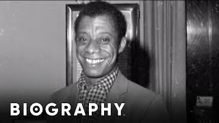 Biography: James Baldwin Mini Bio thumbnail