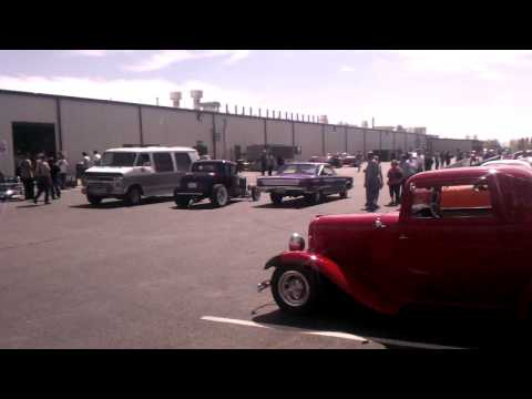 Rodfather carshow at Wyotech Laramie campus