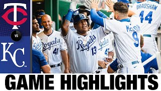 Jorge Soler goes yard twice in the 9-6 win | Twins-Royals Game Highlights 8/8/20