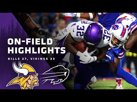 Highlights From The Minnesota Vikings' Preseason Finale Against The Bills