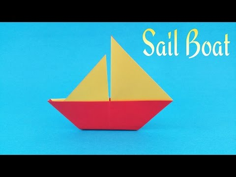 How To Make Easy Paper Sail Boat