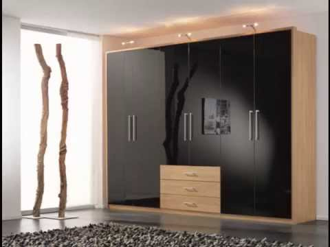 Bedroom furniture wardrobes sliding wardrobes contemporary for Contemporary wardrobe designs india