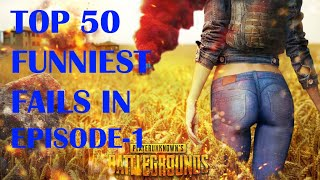 WORLD BEST TOP 50 FUNNIEST FAILS IN PUBG || || DUNCAN GAMING
