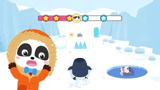 Fun game for kids - Little Panda vs Penguin Run