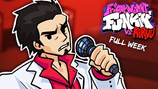 FRIDAY NIGHT FUNKIN Pero BF se HACE YAKUZA ! |  VS Kiryu (FULL WEEK MOD )