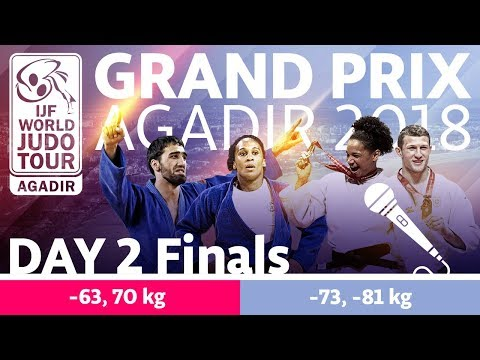 Judo Grand-Prix Agadir 2018: Day 2 - Final Block