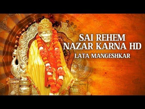 LATA MANGESHKAR - Sai Rehem Nazar Karna | साईं रहम नज़र करना |Sai Aarti | Times Music Spiritual