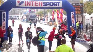 Arrivée Marathon du Beaujolais 2017