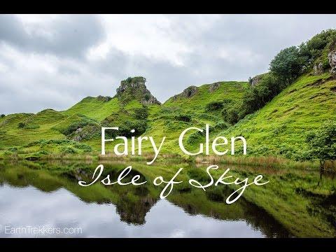Isle of Skye - Fairy Glen Drone Footage