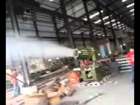 Video 1 DS-50 Industry Silencer Dust Suppression Fog Cannon Atomizer/ Sprayer