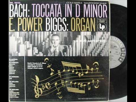 E. Power Biggs - Bach Toccata & Fugue in D minor on 14 organs *part 1 of 6*