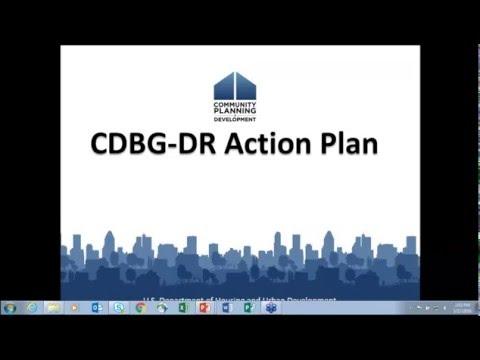 CDBG Webinar: 2016 CDBG-DR Action Plans, Citizen Participants, and LEP - 3/17/16
