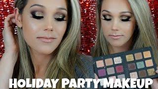 Holiday PARTY Makeup  Natasha Denona Star Palette  Gold & Black  HAYLEY SPEAR