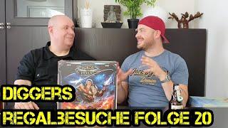 Regalbesuche - Digger bei Euch zu Gast - Folge 20 -  Stefan - Boardgame Digger
