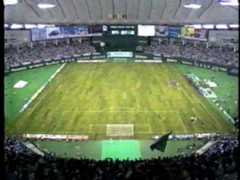 ヴェルディ川崎vsアストン・ビラ コカコーラカップ'93 東京ドーム
