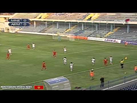Montenegro u21 vs Armenia u21 (Euro U21 - Qualification ...10 september 2012 ...RTCG)