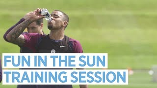 FUN IN THE SUN! | Man City Training