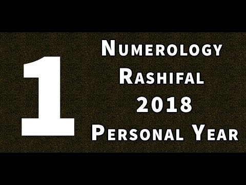 numerology in hindi - personal year 1 numerology  - numerology rashifal 2018 in hindi