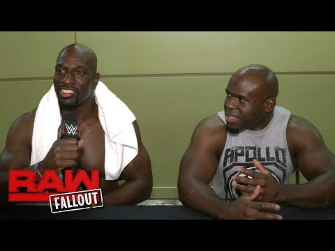 """Titus O'Neil holds a celebratory """"Titus Brand"""" press conference: Raw Fallout, May 29, 2017"""
