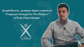 École Polytechnique – Career Skills Workshops Testimonials – Graduate Degree 2016