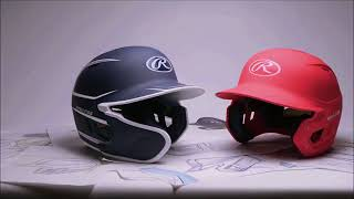 Rawlings Mach Baseball Batting Helmet