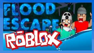 Roblox - MORREMOS AFOGADOS (c/ Godenot) Flood Escape thumbnail