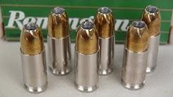 9mm Remington Golden Saber 147 gr Ammo Gel Test