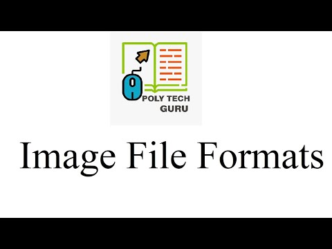 Image file formats | Lecture-3