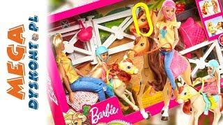 Barbie stadnina koni  zestaw z lalką  FXH15