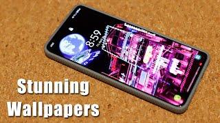 Stunning Cyberpunk Style Samsung Galaxy Live Wallpaper + More (S21, Note 20, S20, etc) screenshot 4