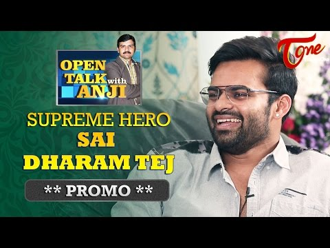 Supreme Hero Sai Dharam Tej Exclusive Interview Promo | Open Talk with Anji | #05