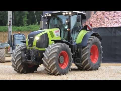 Tracteur claas vidéo