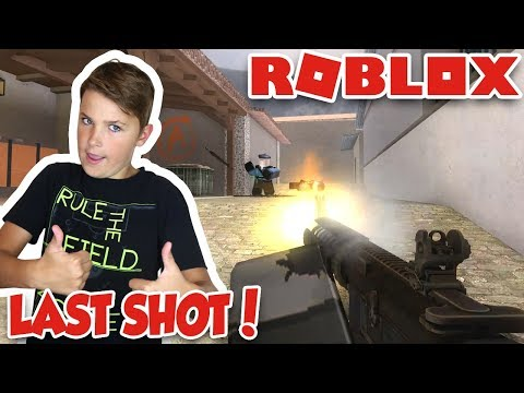 LAST SHOT FOR THE WIN! ROBLOX COUNTER BLOX ROBLOX OFFENSIVE