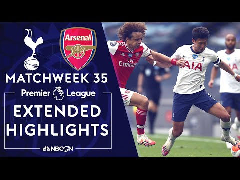 Tottenham v. Arsenal   PREMIER LEAGUE HIGHLIGHTS   7/12/2020   NBC Sports