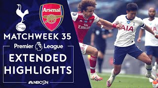 Tottenham v. Arsenal | PREMIER LEAGUE HIGHLIGHTS | 7/12/2020 | NBC Sports