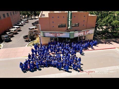 Lovington High School - 2017 Graduation Walk