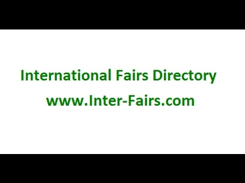 International Fairs Directory The Event/Fairs Listing Platform