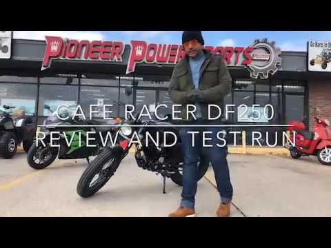 DONG FANG 250CC CAFE RACER | FULL REVIEW | TEST DRIVE