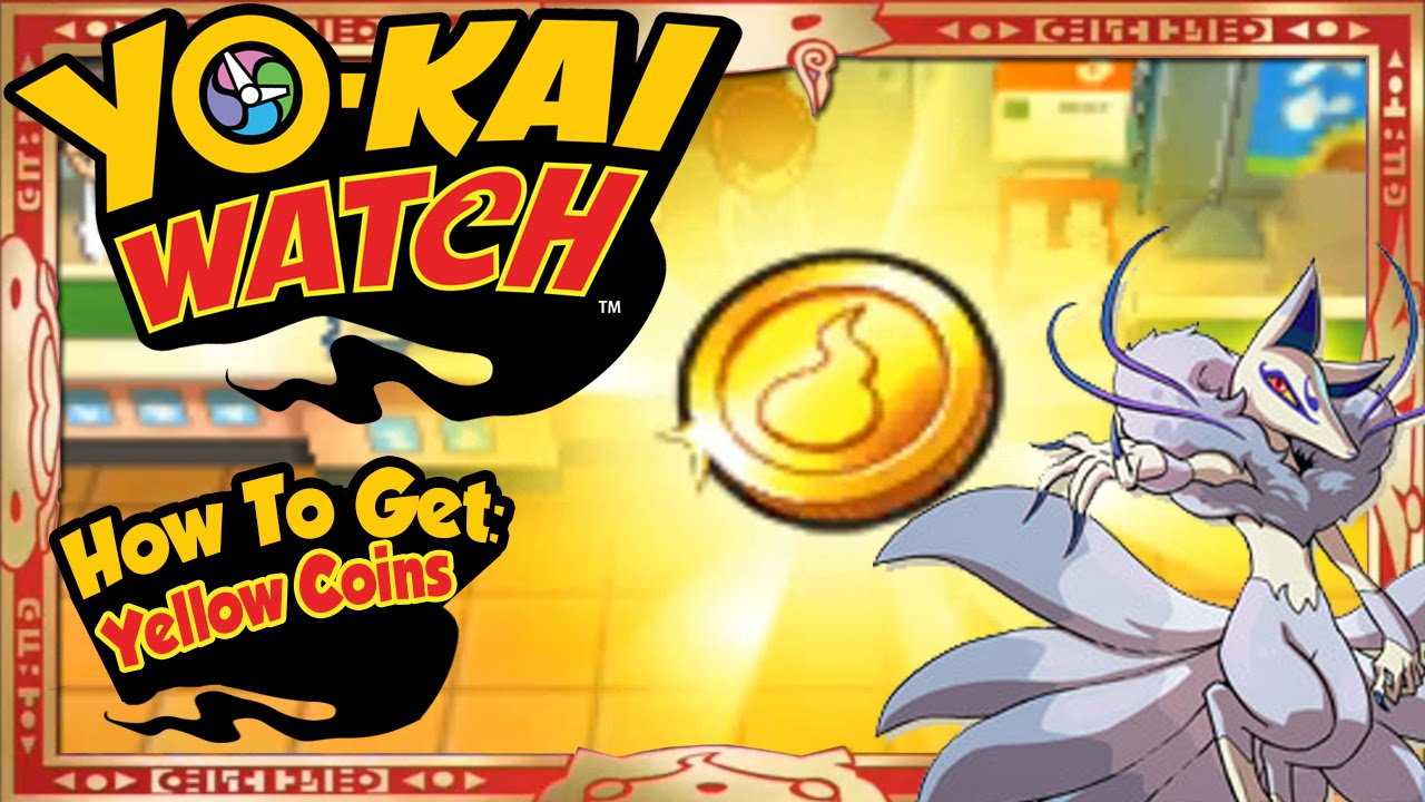 Yo kai watch how to get infinite yellow coins amp rare frostail easy