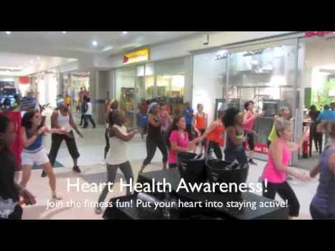 Zumba Fitness Flash Mob Azonto Accra Mall (Ghana)