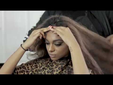 Kc Woods Frontal Wig Install Youtube