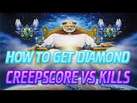 LoL Guide: How To Get Diamond: CS vs. Kills [League Of Legends]